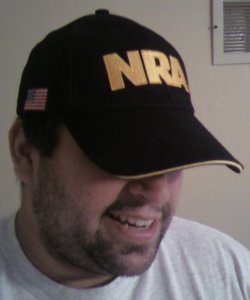 Need to know if I'm an NRA member?  Just read this nifty hat.